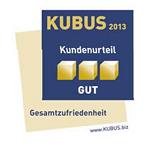 08/2013 - KUBUS-Studie der Unternehmensberatung MSR