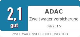 Testsiegel: ADAC Zweitwagenversicherung