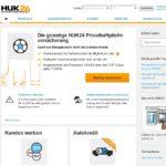 Webseite von HUK24