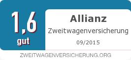 Testsiegel: Allianz Zweitwagenversicherung