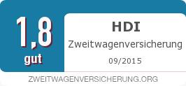 Testsiegel: HDI Zweitwagenversicherung