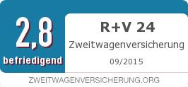 Testsiegel: R+V 24 Zweitwagenversicherung